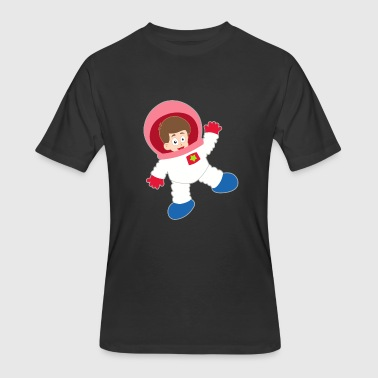 Space-suit astronaut space boy suit cool gift idea - Men's 50/50 T-Shirt