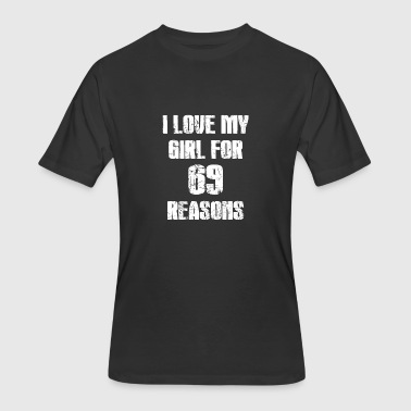 Sixty 69 reasons Girl - Men's 50/50 T-Shirt