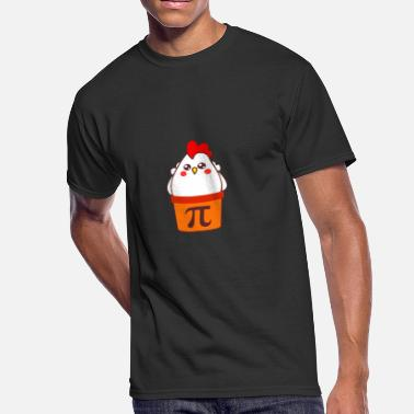 Pot Chicken Pot Pi Food Math Pun T Shirt - Men's 50/50 T-Shirt