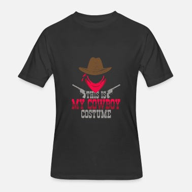 Cowboy This Is My Cowboy Costume - Hallloween - Men's 50/50 T-Shirt