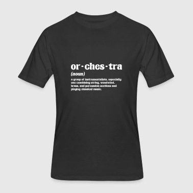 Conductor Orchestra Orchestra dictionary article conductor musician - Men's 50/50 T-Shirt