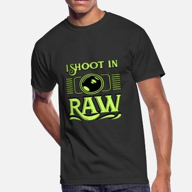 Raw Photographer Photographer - I shoot in Raw - Men's 50/50 T-Shirt