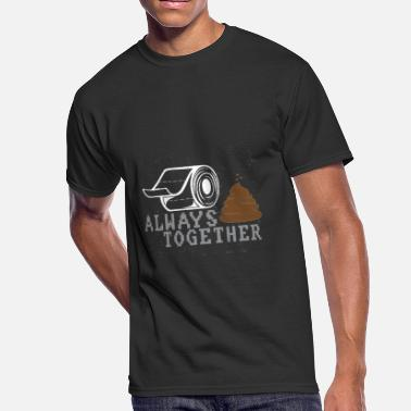 Together Since 2014 Wedding Valentine's Day Love Gift - Men's 50/50 T-Shirt