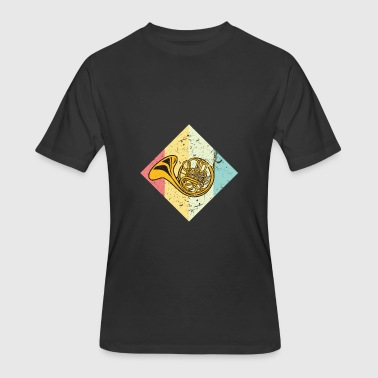 French Horn - Men's 50/50 T-Shirt