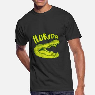 Gift Gator Cool Florida Gator Wild Animal Alligator Wildlife - Men's 50/50 T-Shirt