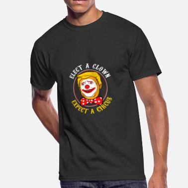 Trump Clown Elect a clown expect a circus gift - Men's 50/50 T-Shirt