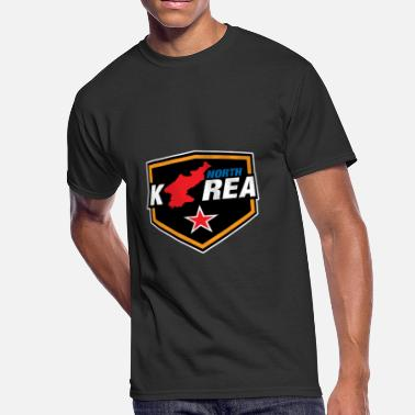 South Korea Flag North Korea South Korea Korea flag Asia - Men's 50/50 T-Shirt