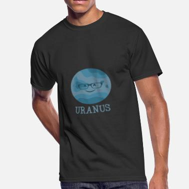 Kosmos Uranus Planet Comic Smiley Kids Gift Kosmos - Men's 50/50 T-Shirt