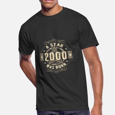 465399b00c A Star Was Born 2000 Sand - Birthday TShirt.png - Men'. Men's 50/50 ...