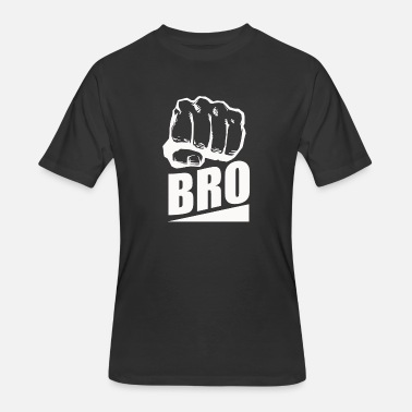 Bro Design BRO Fist Brother Friend Design - Men's 50/50 T-Shirt