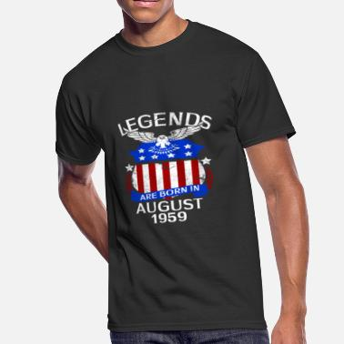 August 1959 Legends Are Born In August 1959 - Men's 50/50 T-Shirt