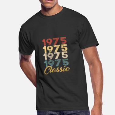 Classic Vintage 1975 Born in 1975 Gift - Shirt - Classic - Men's 50/50 T-Shirt