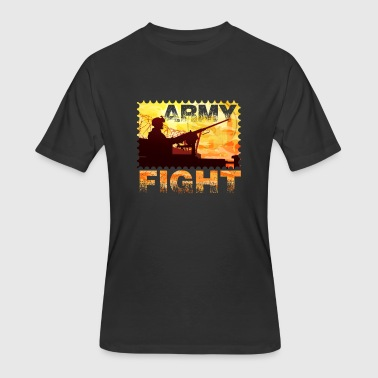 Military Army Fight - Men's 50/50 T-Shirt