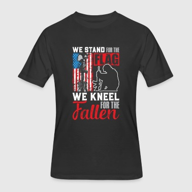 Shop We Stand For The Flag We Kneel For The Fallen T