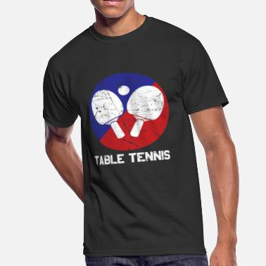 Table Soccer Table tennis - Men's 50/50 T-Shirt