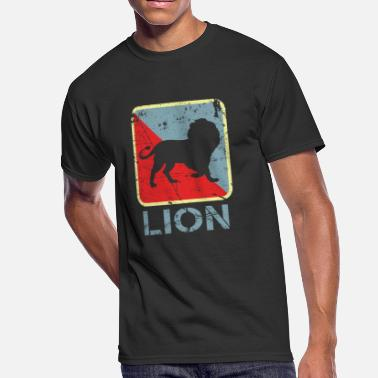 Alpha Lion Lion Alpha Fluffy pack - Men's 50/50 T-Shirt