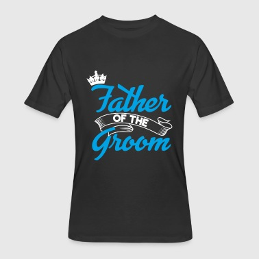 Father Of The Groom Father Of The Groom | Groom Squad Grooms Father - Men's 50/50 T-Shirt