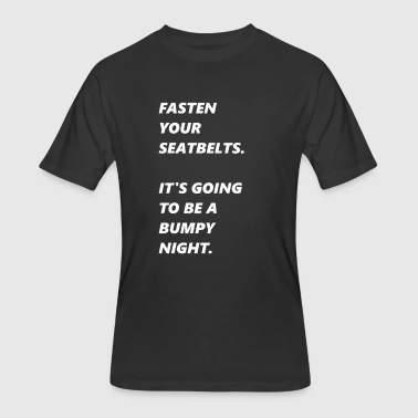 Pearl Quotes pearl of wisdom movie quote night seatbelts fasten - Men's 50/50 T-Shirt