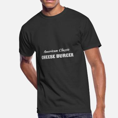 Cheesecake American classic cheese burger - Men's 50/50 T-Shirt