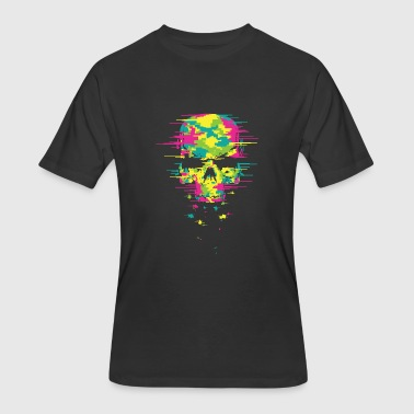 Neon Techno Techno skull - Men's 50/50 T-Shirt