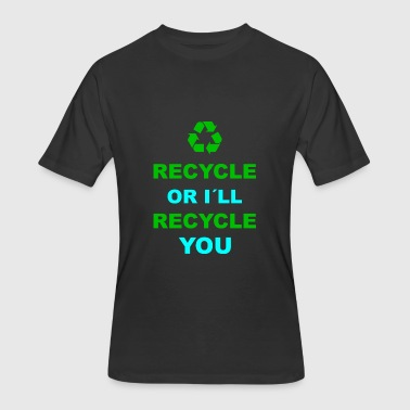 Recycle Recycling Environment Earth Day - Men's 50/50 T-Shirt