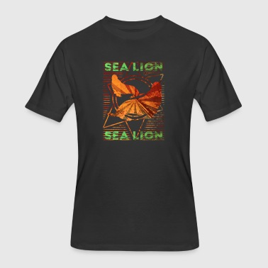 Sea Lion Zoo Sea Lion - Men's 50/50 T-Shirt