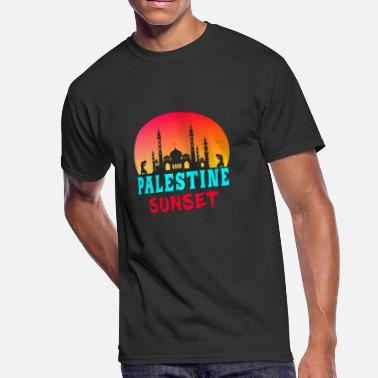 Mosque Palestine Sunset Mosque Gift Arabia - Men's 50/50 T-Shirt