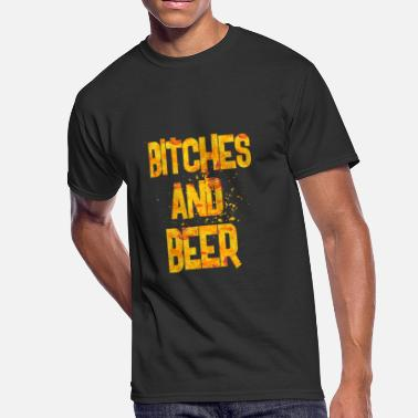 Bitch Beer bitches and beer - Men's 50/50 T-Shirt