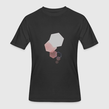 Geometric - Men's 50/50 T-Shirt