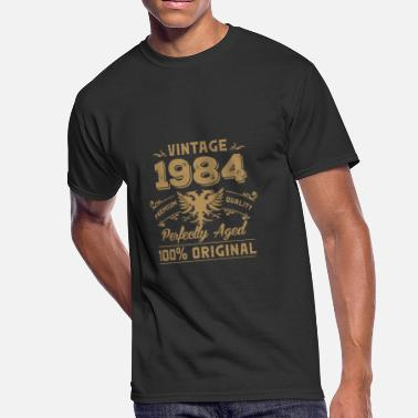 Vintage Premium Quality 1984 Aged To Perfection Vintage 1984 Premium Quality Orginal - Men's 50/50 T-Shirt