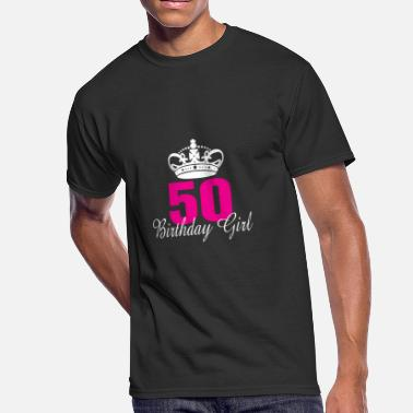 50 Year Old Birthday Birthday Girl 50 Years Old - Men's 50/50 T-Shirt