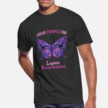 Lupus Awareness Lupus Awareness Lupus Warrior T-Shirt - Men's 50/50 T-Shirt