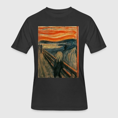 The Scream (Edvard Munch) - Men's 50/50 T-Shirt