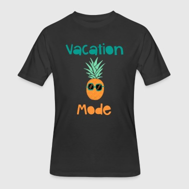 Vacation Mode Pineapple With Sunglasse - Men's 50/50 T-Shirt