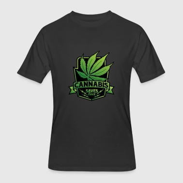 Herb Cannabis Cannabis Medical Herb II - Men's 50/50 T-Shirt