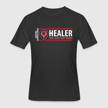 Amtgard Shield Series: Healer - Men's 50/50 T-Shirt