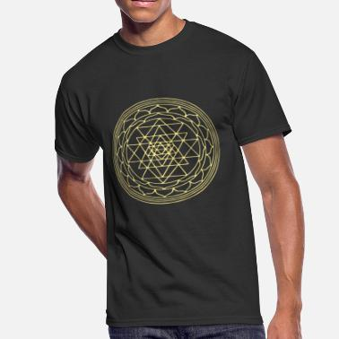 Sri Yantra Sacred Geometry Sri Yantra - Men's 50/50 T-Shirt