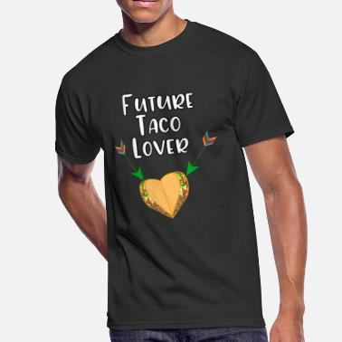 Oven Future Taco Lover Funny Baby Bump Pregnancy - Men's 50/50 T-Shirt