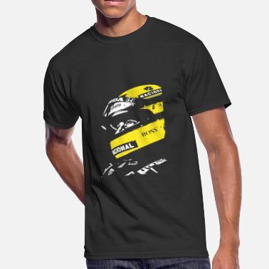 3caeef75 ayrton senna helmet poster shirt - Men's 50/50 ...