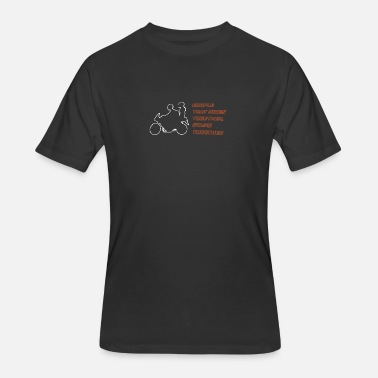 Bikers Couples couple biker - Men's 50/50 T-Shirt