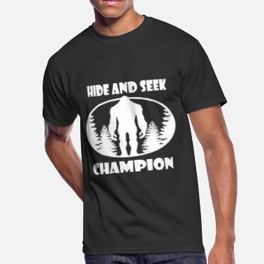 Bigfoot Hide And Seek Bigfoot Hide and Seek World Champion - Men's 50/50 T-Shirt