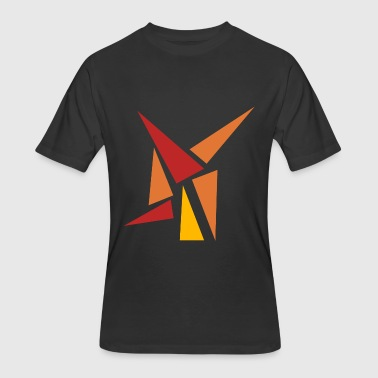 3 Triangles Triangle - Men's 50/50 T-Shirt