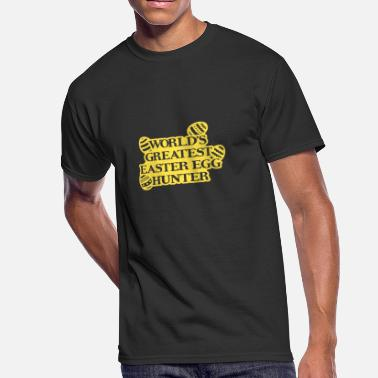 Art Egg Music World's Greatest Easter Egg Hunter - Men's 50/50 T-Shirt