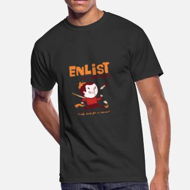 Enlisted Enlist - Men's 50/50 T-Shirt