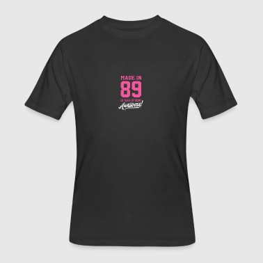 Birthday Made in 89 28 years of being awesome - Men's 50/50 T-Shirt