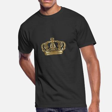 Gold King Crown Gold Crown - Men's 50/50 T-Shirt