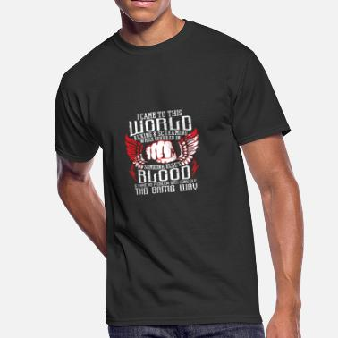 Came Into The World MMA I came to this world kicking and screaming - Men's 50/50 T-Shirt