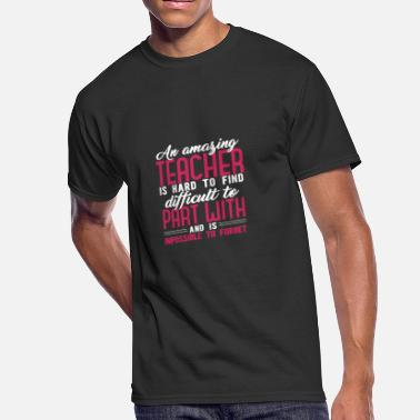 Hard To Find An amazing teacher is hard to find - Men's 50/50 T-Shirt