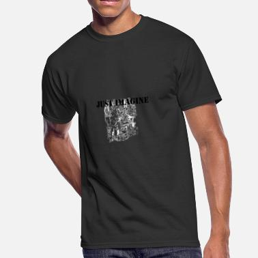 Just Imagine just imagine - Men's 50/50 T-Shirt