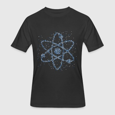 Atom Love Students Abstract Atom - Men's 50/50 T-Shirt